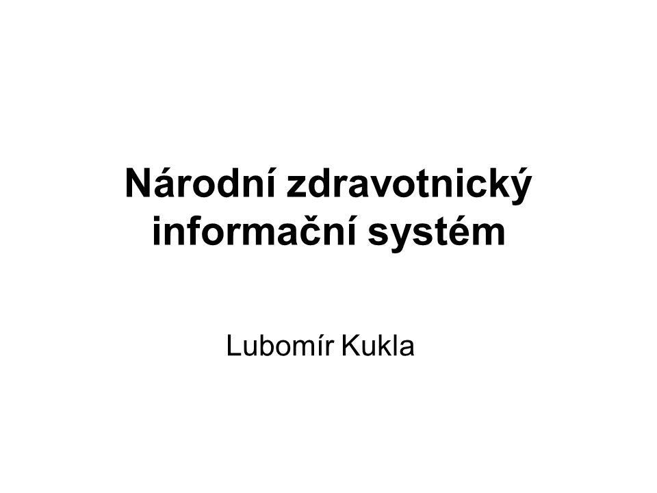Národní zdravotnický informační systém