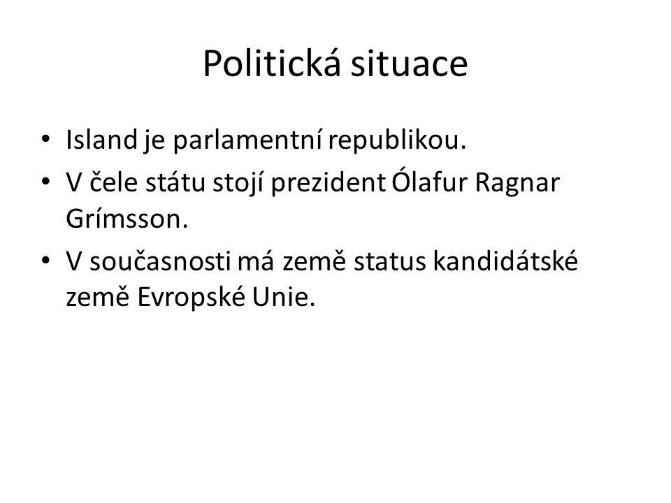 Politická situace Island je parlamentní republikou.