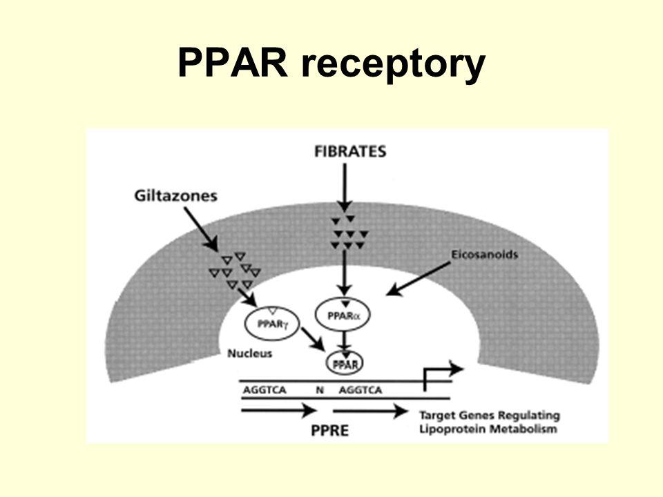 PPAR receptory
