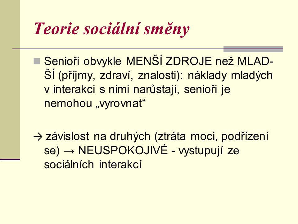 Teorie sociální směny