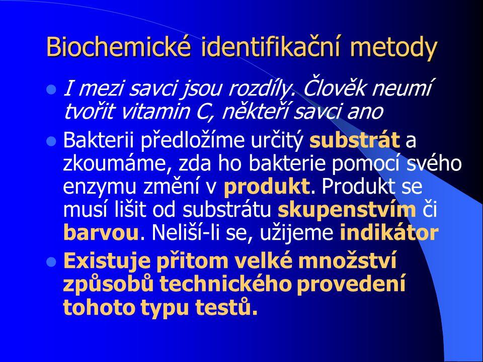 Biochemické identifikační metody
