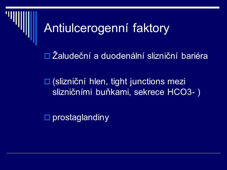 Antiulcerogenní faktory