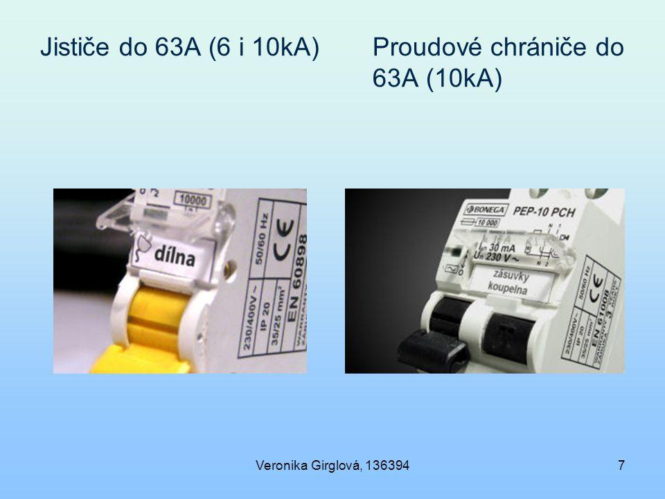 Jističe do 63A (6 i 10kA) Proudové chrániče do 63A (10kA)