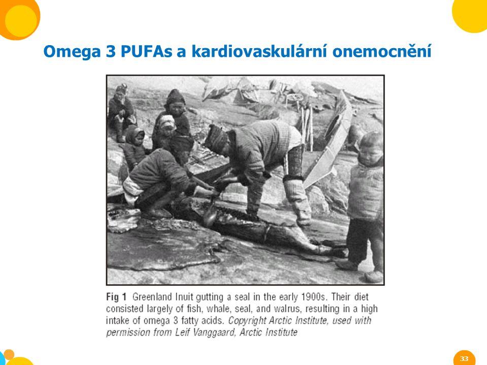 Omega 3 PUFAs a kardiovaskulární onemocnění