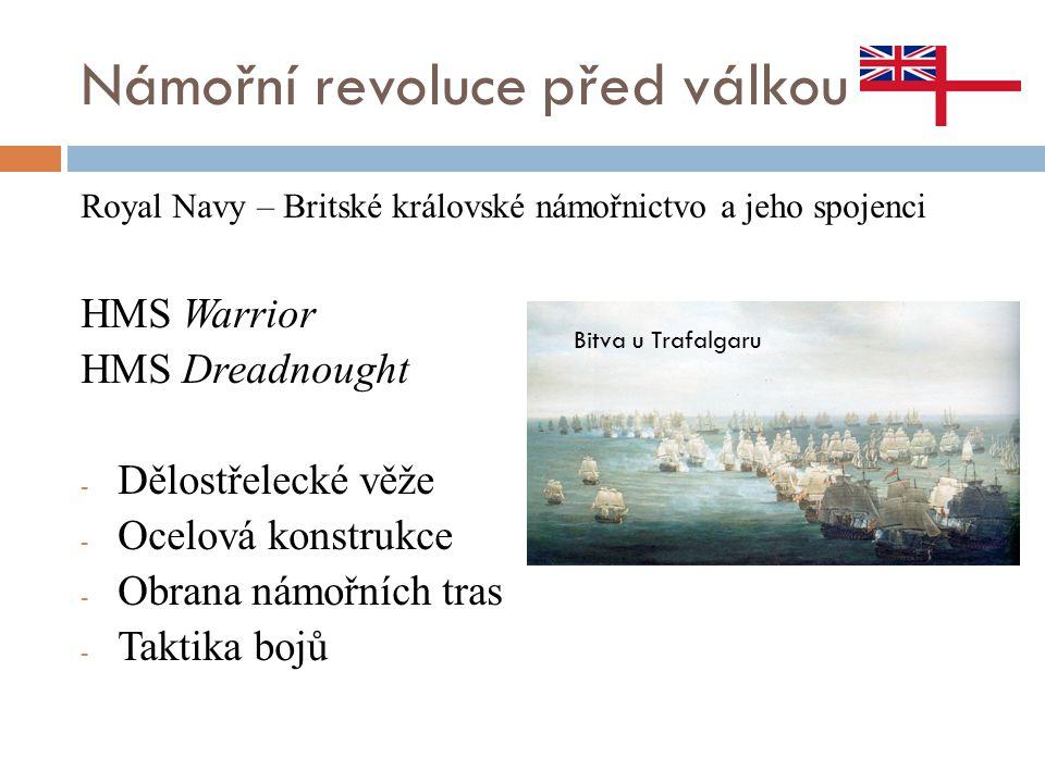Námořní revoluce před válkou