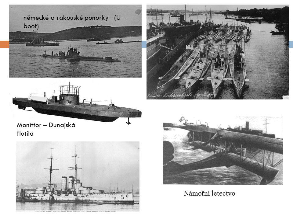 německé a rakouské ponorky –(U – boot)