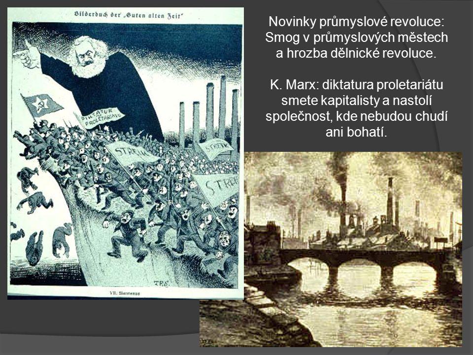 Novinky průmyslové revoluce: