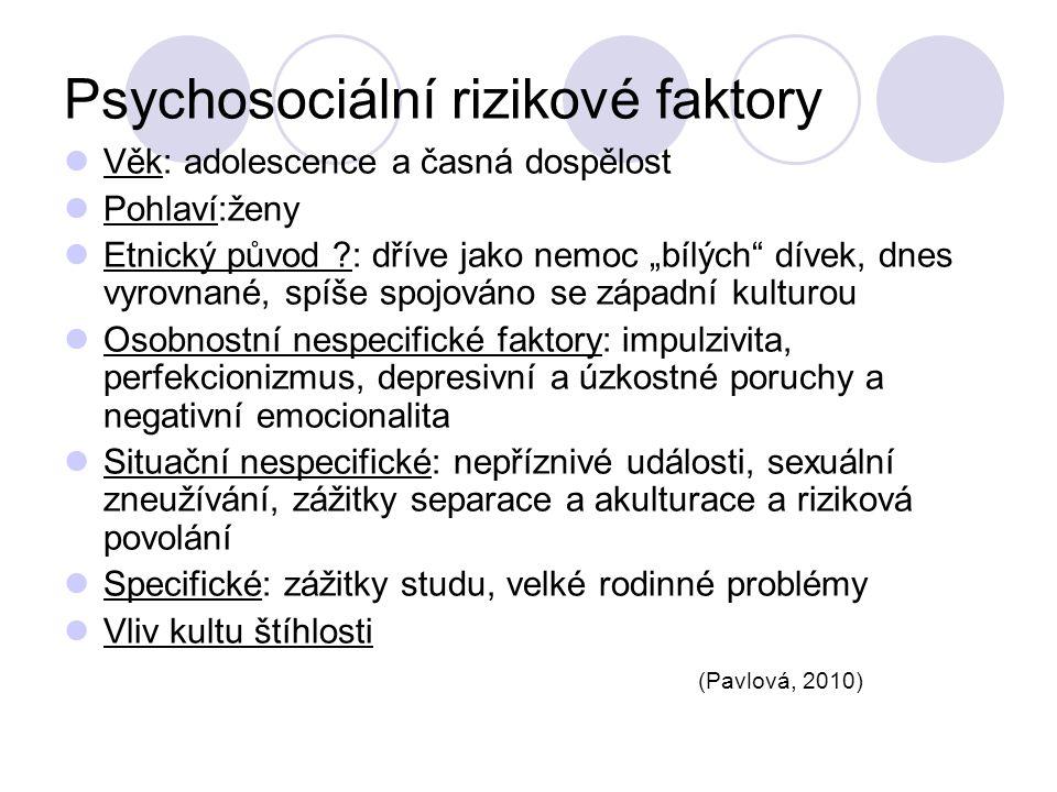 Psychosociální rizikové faktory