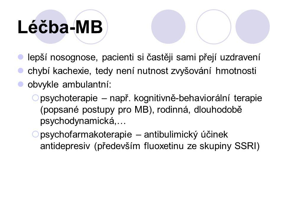Léčba-MB lepší nosognose, pacienti si častěji sami přejí uzdravení