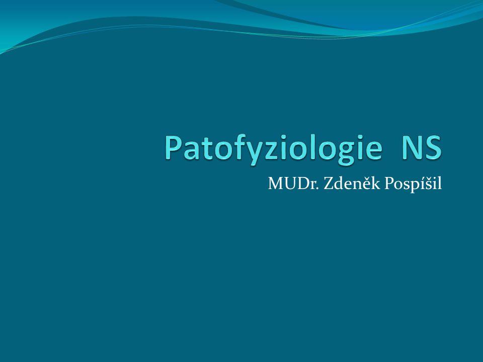 Patofyziologie NS MUDr. Zdeněk Pospíšil