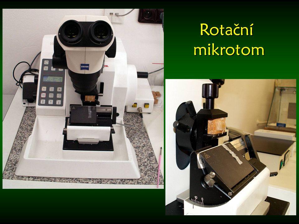 Rotační mikrotom