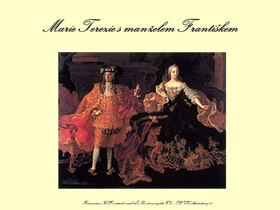 Marie Terezie s manželem Františkem