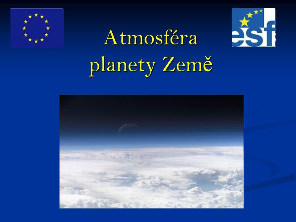 Atmosféra planety Země