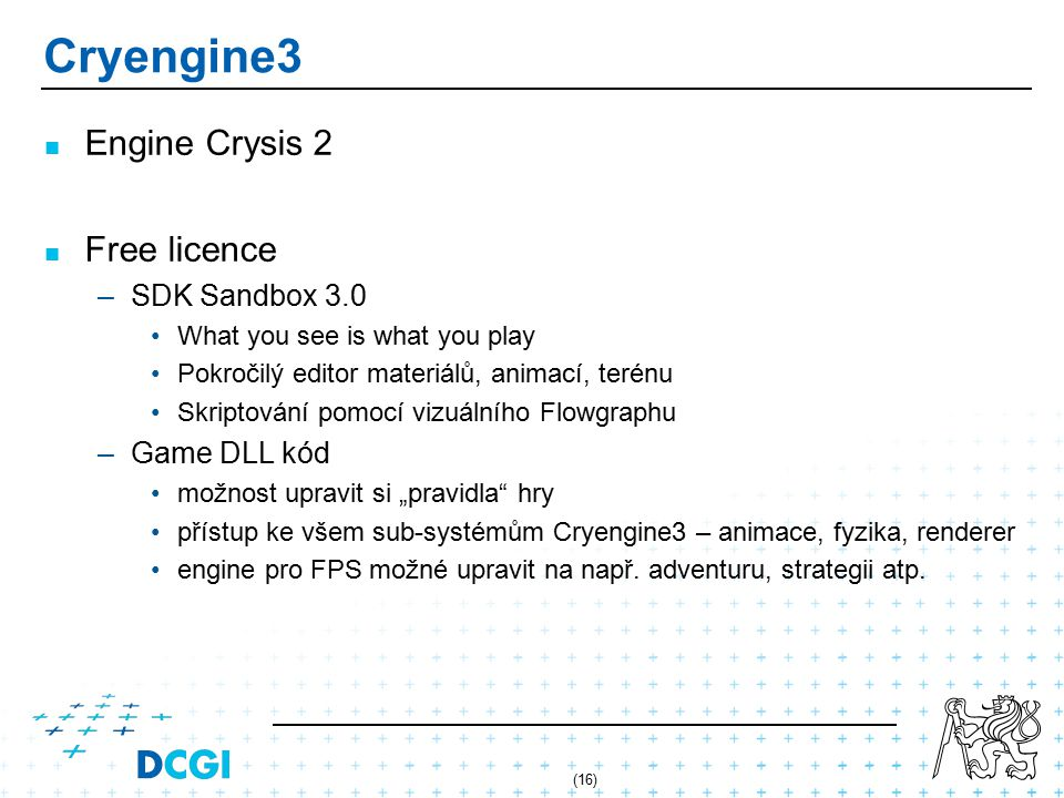 Cryengine3 Engine Crysis 2 Free licence SDK Sandbox 3.0 Game DLL kód