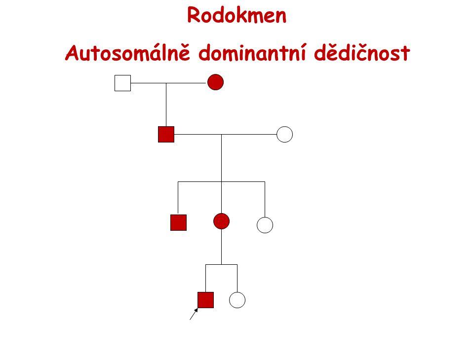 Autosomálně dominantní dědičnost