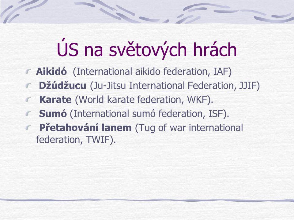 ÚS na světových hrách Aikidó (International aikido federation, IAF)