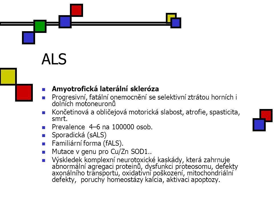 ALS Amyotrofická laterální skleróza