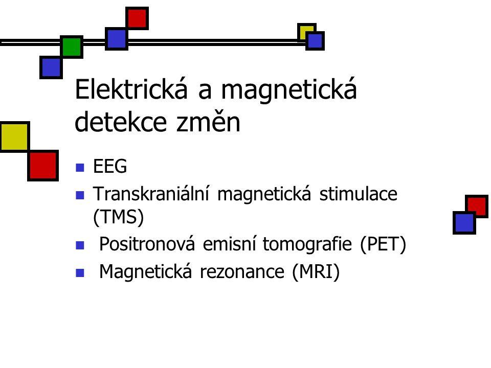 Elektrická a magnetická detekce změn