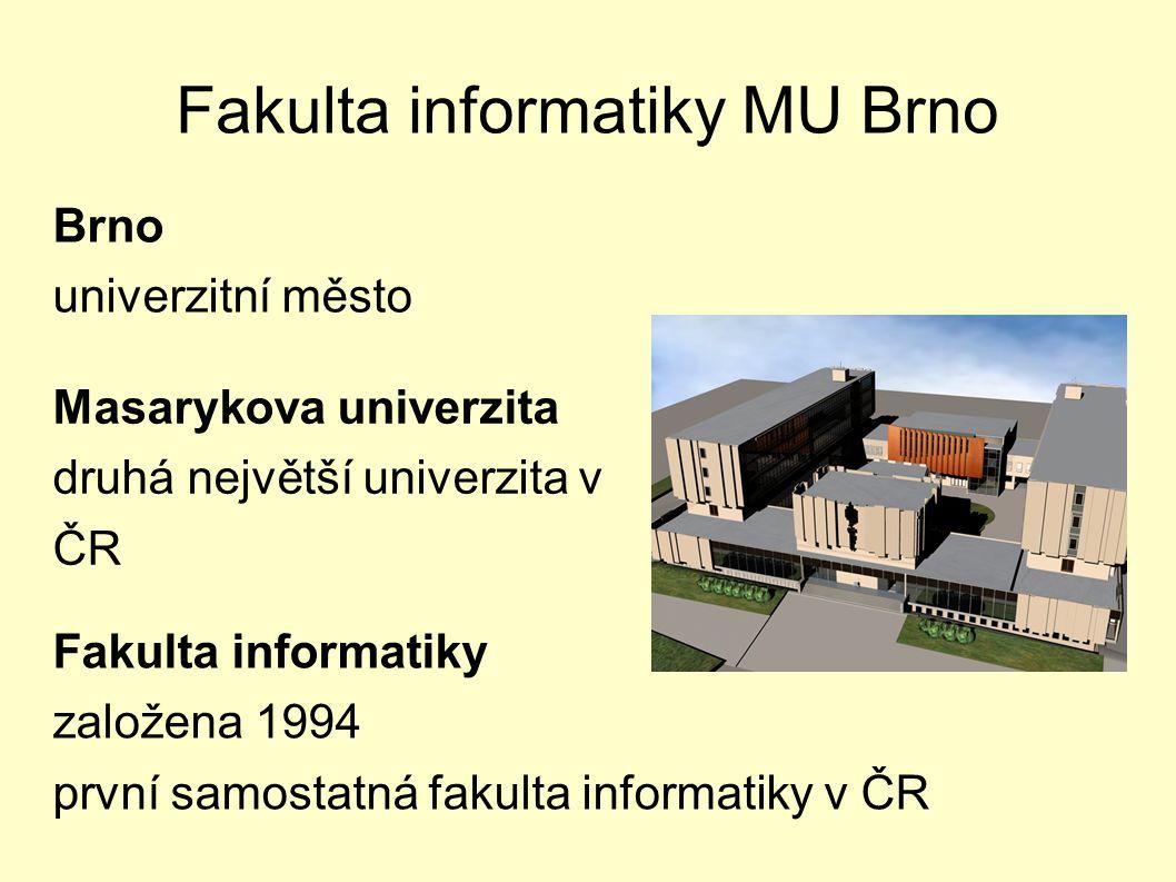 Fakulta informatiky MU Brno
