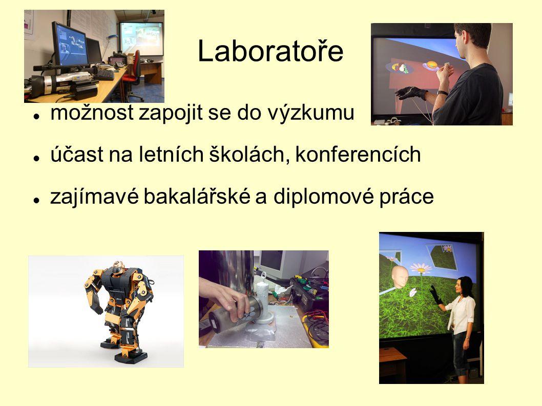 Laboratoře možnost zapojit se do výzkumu