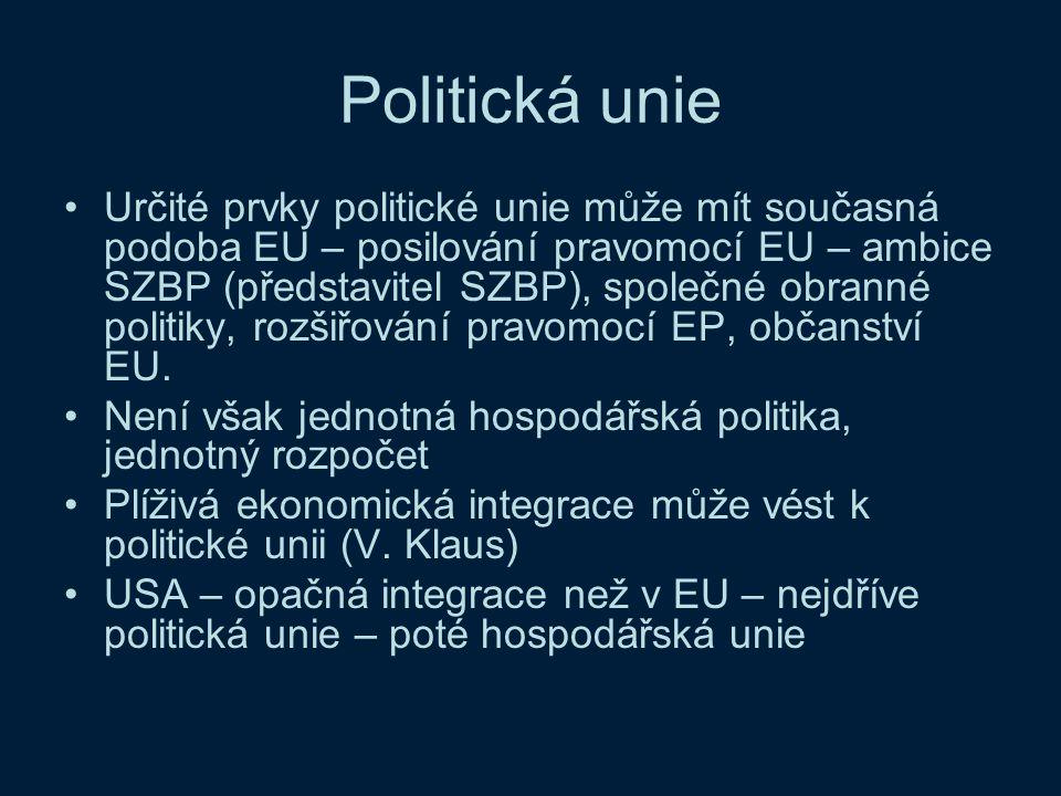 Politická unie