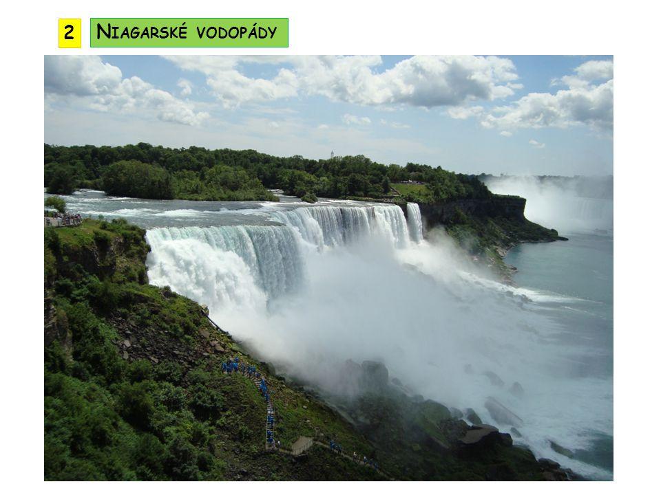 2 Niagarské vodopády