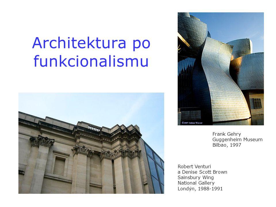 Architektura po funkcionalismu