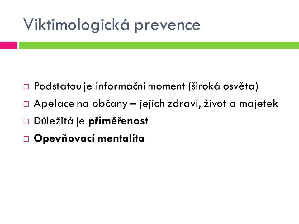 Viktimologická prevence