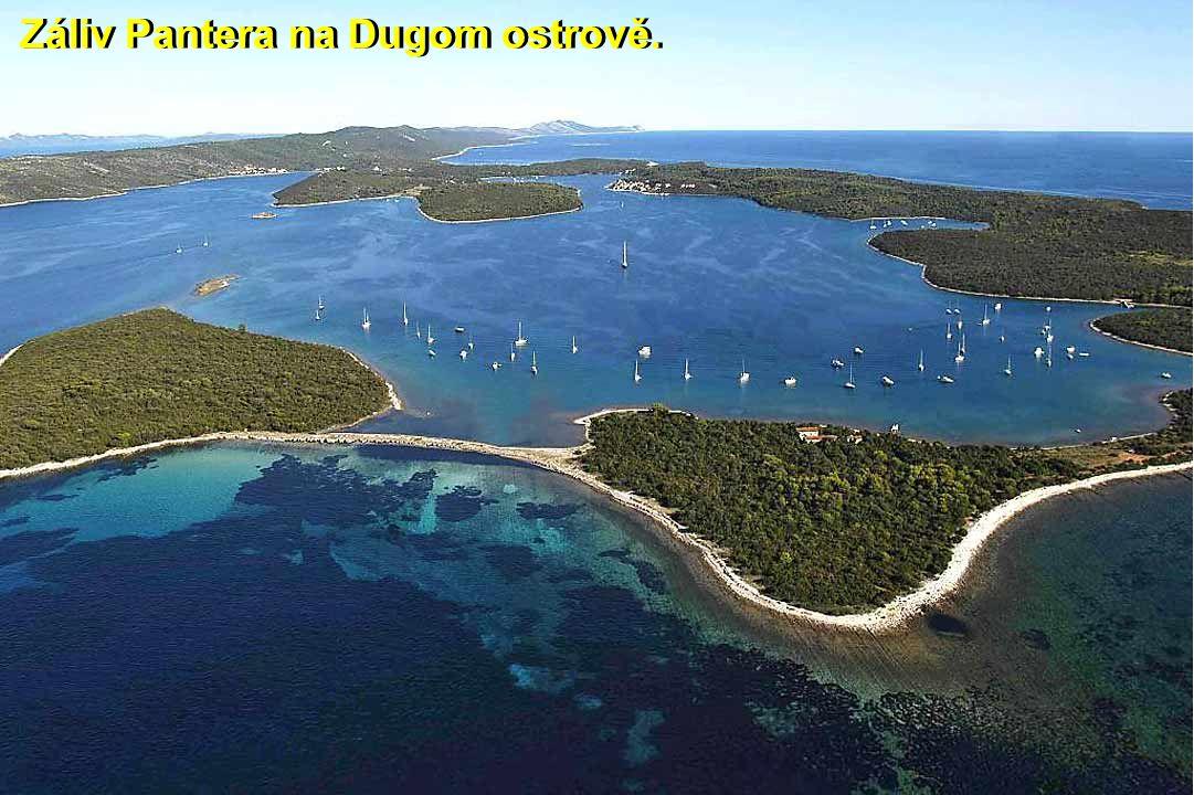 Záliv Pantera na Dugom ostrově.