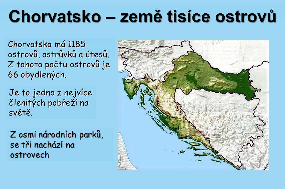 Chorvatsko – země tisíce ostrovů