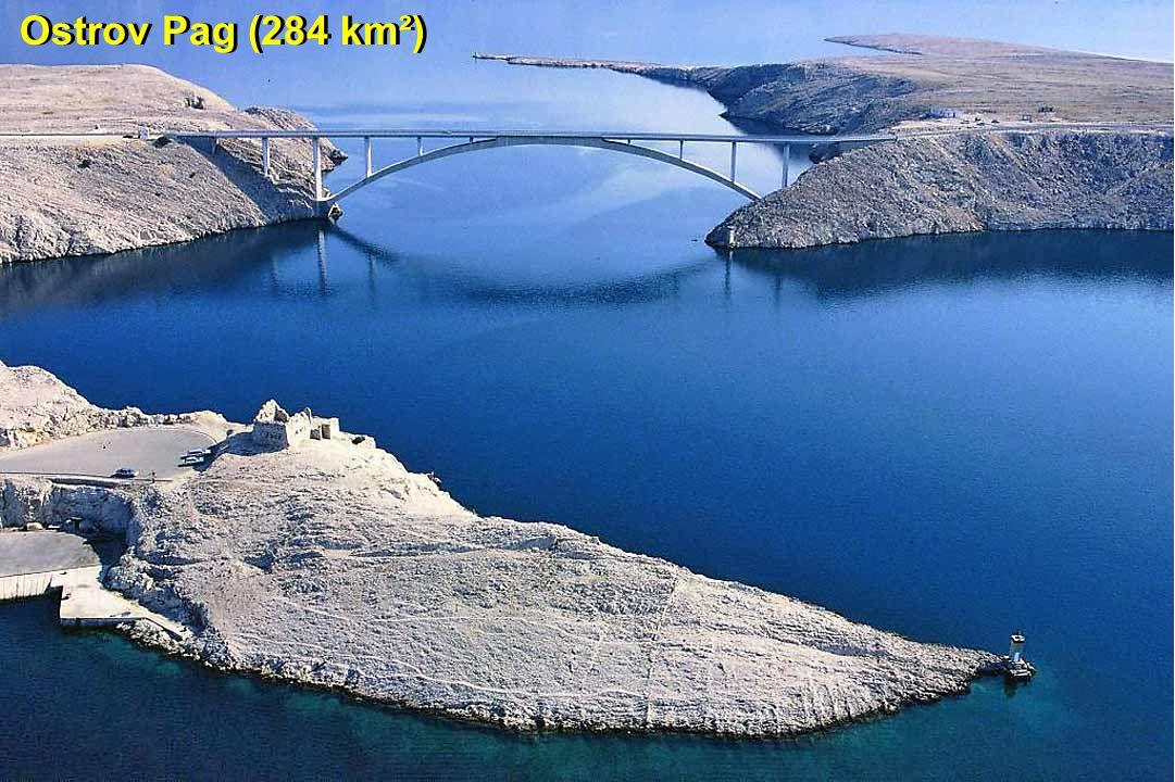 Ostrov Pag (284 km²)