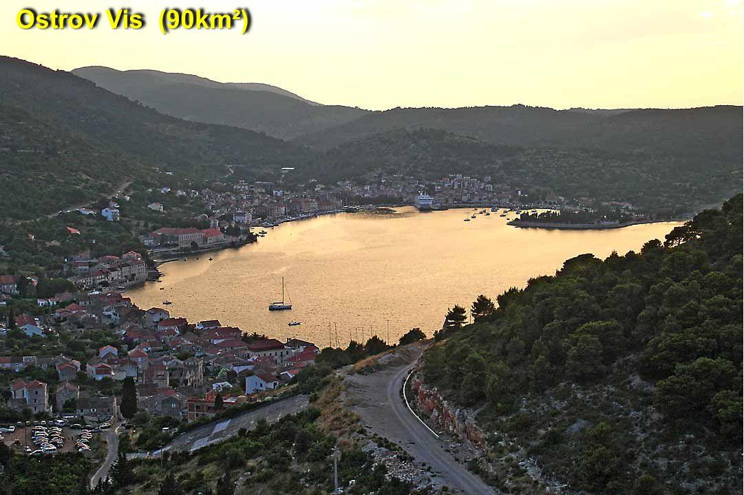 Ostrov Vis (90km²)
