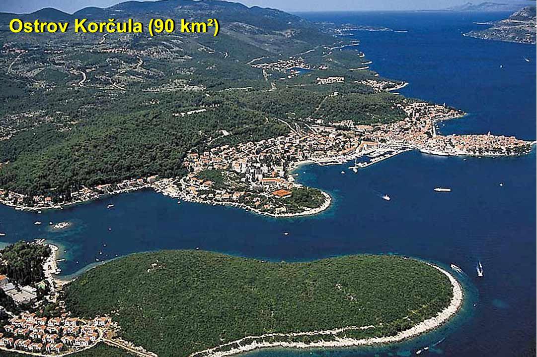 Ostrov Korčula (90 km²)