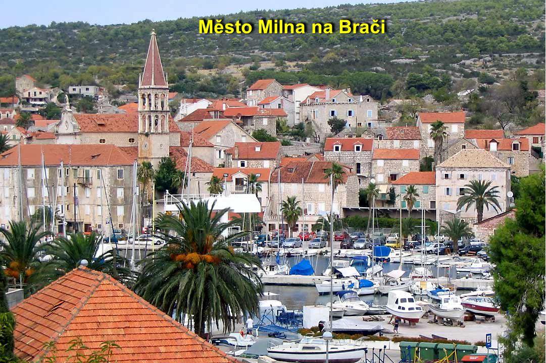 Město Milna na Brači