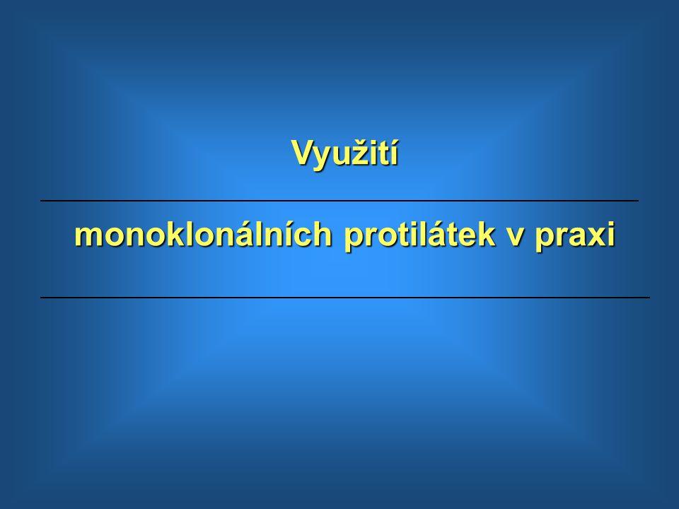 monoklonálních protilátek v praxi