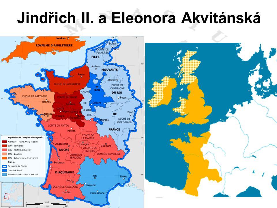 Jindřich II. a Eleonora Akvitánská