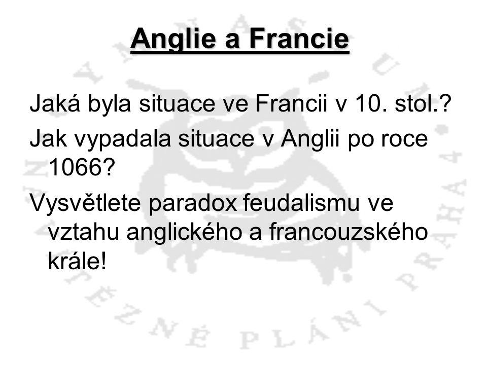 Anglie a Francie