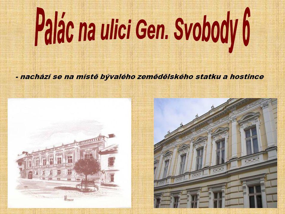 Palác na ulici Gen. Svobody 6