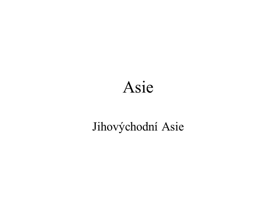 Asie Jihovýchodní Asie