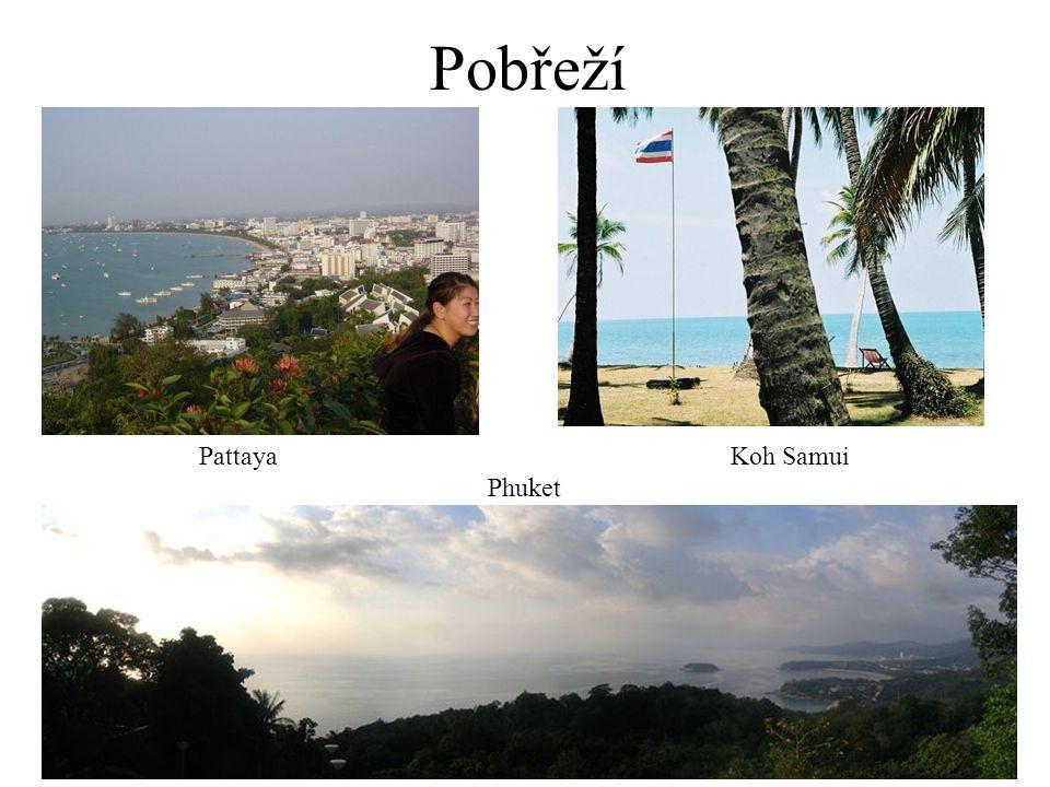 Pobřeží Pattaya Koh Samui Phuket