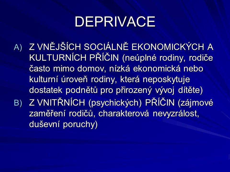 DEPRIVACE