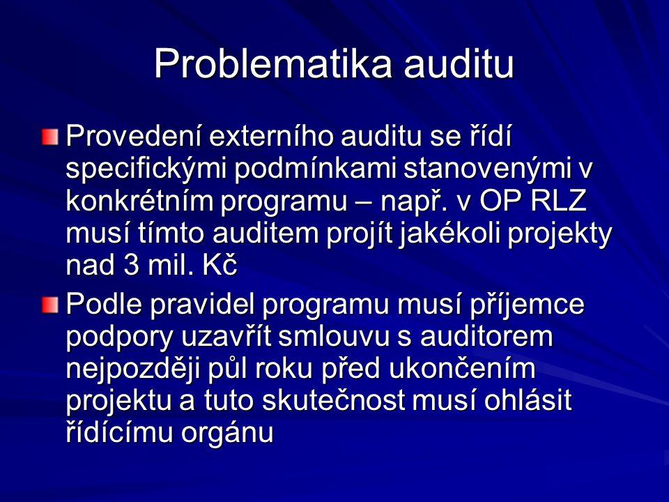Problematika auditu