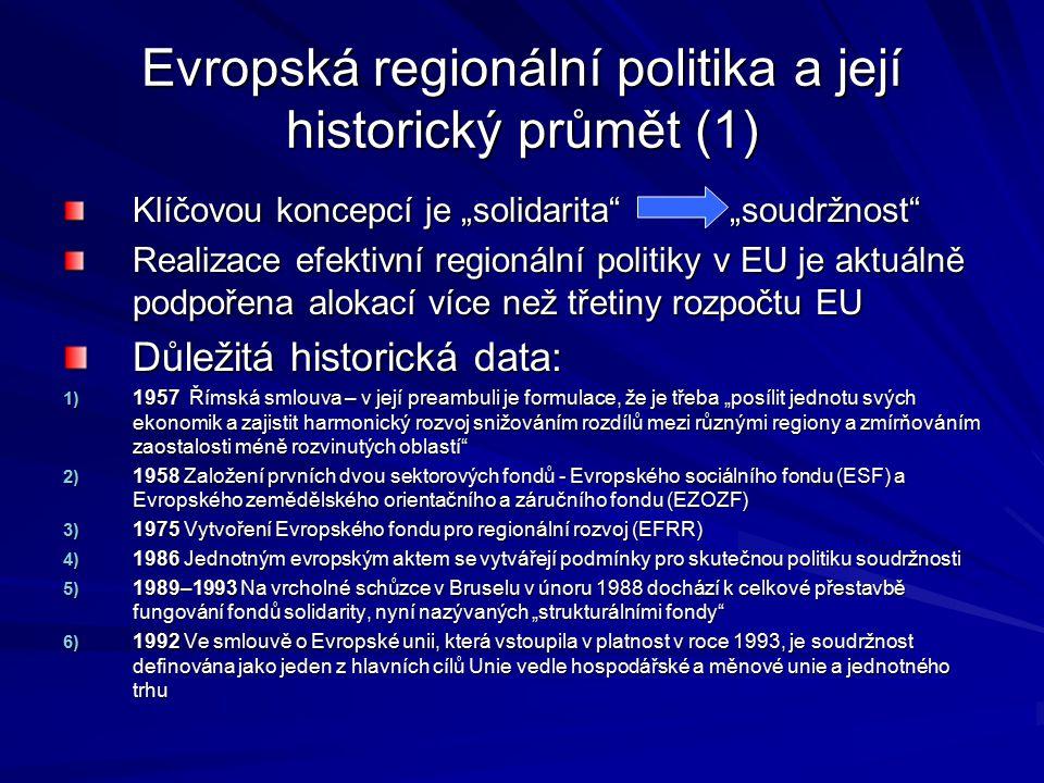 Evropská regionální politika a její historický průmět (1)