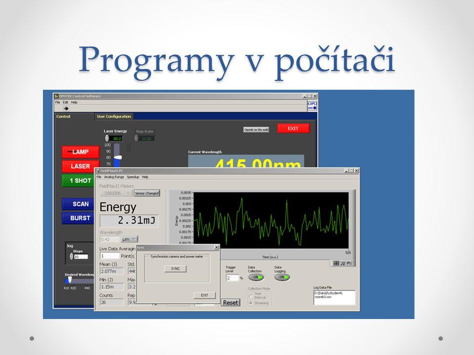 Programy v počítači