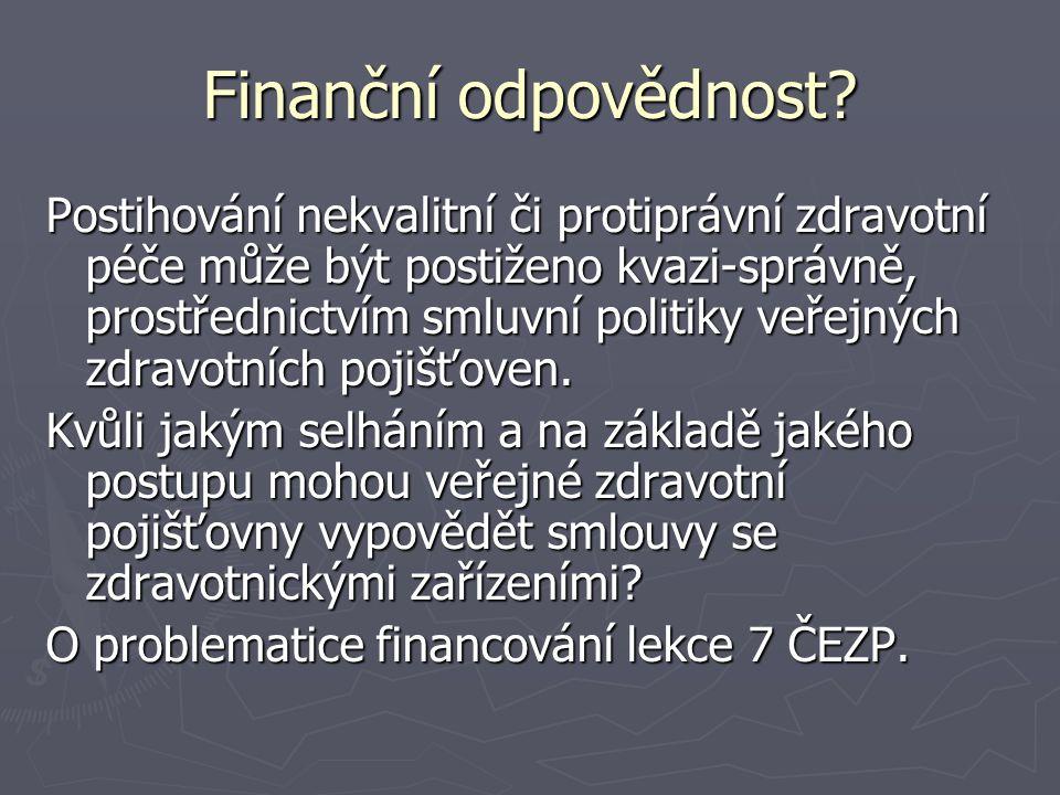 Finanční odpovědnost