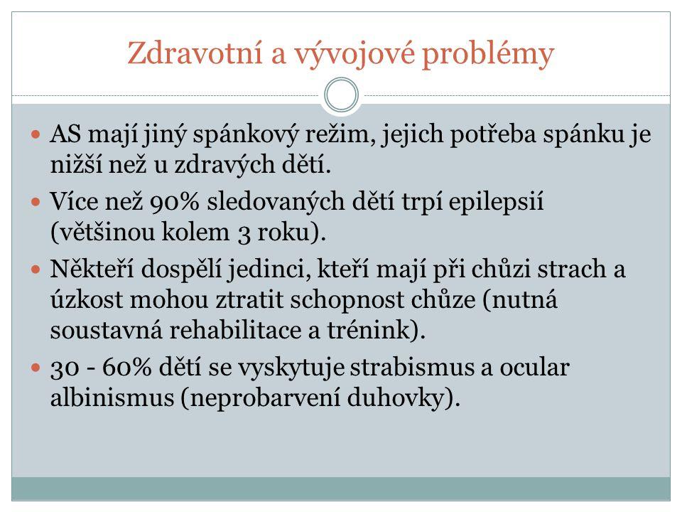 Zdravotní a vývojové problémy