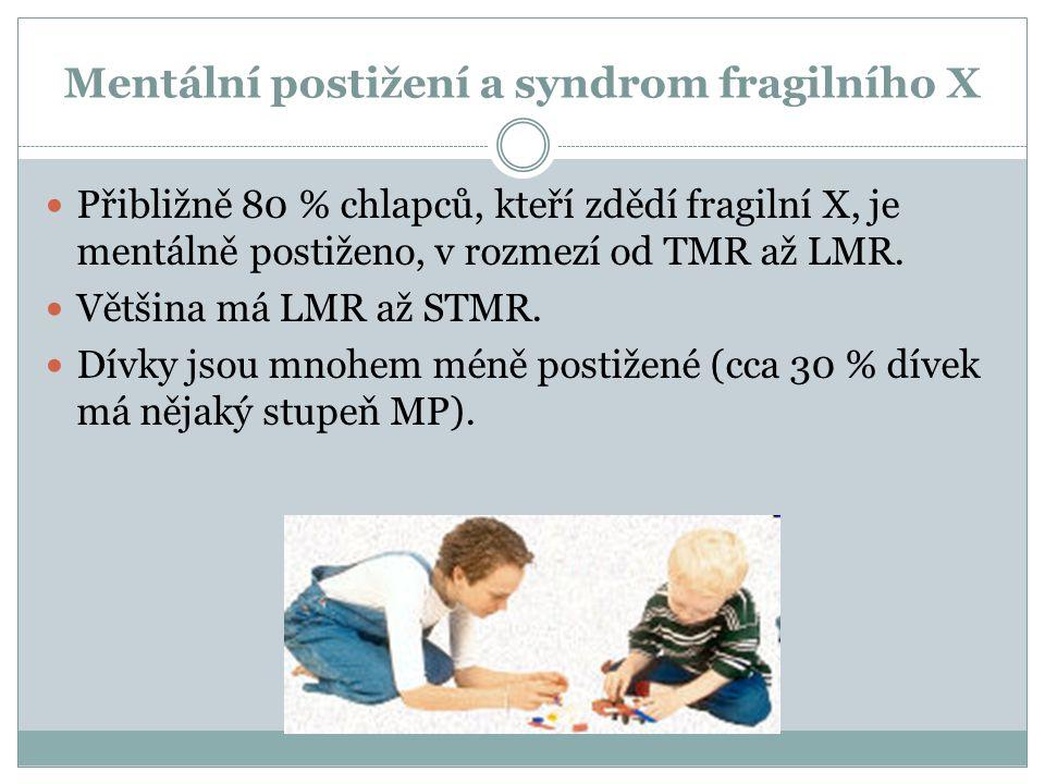 Mentální postižení a syndrom fragilního X