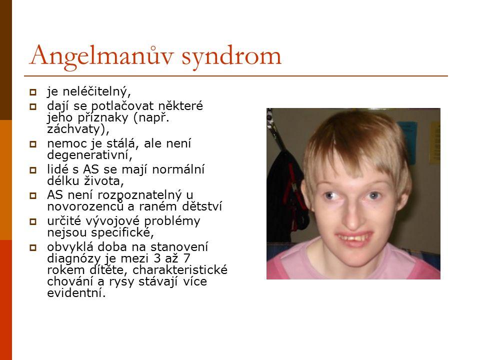 Angelmanův syndrom je neléčitelný,