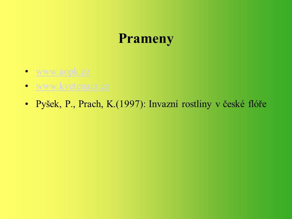 Prameny www.aopk.cz www.kvetenacr.cz