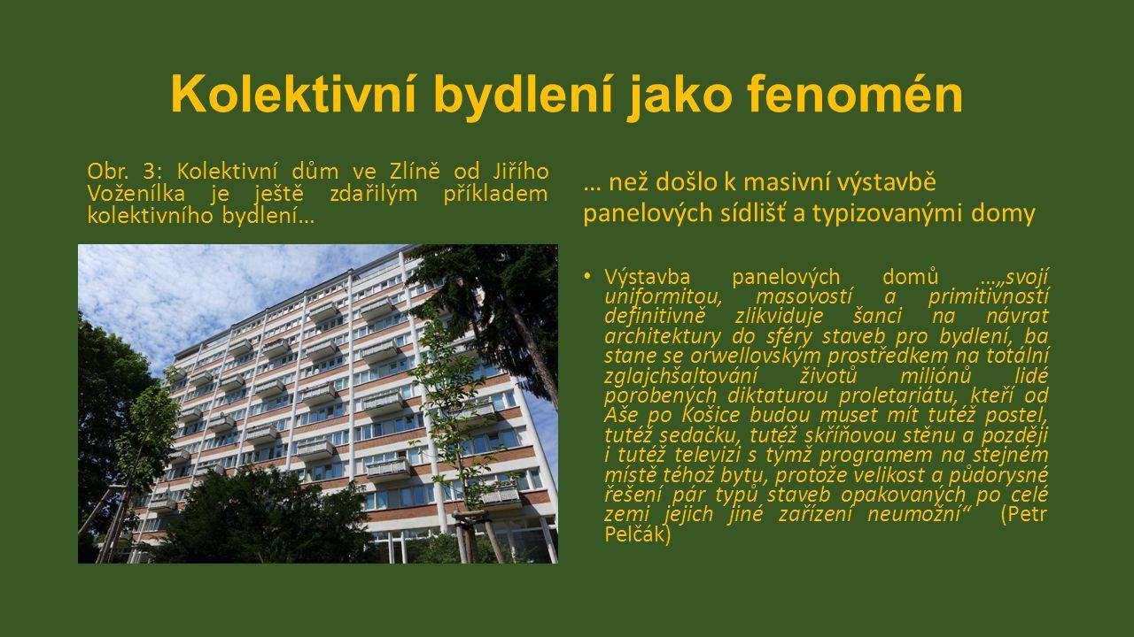 Kolektivní bydlení jako fenomén